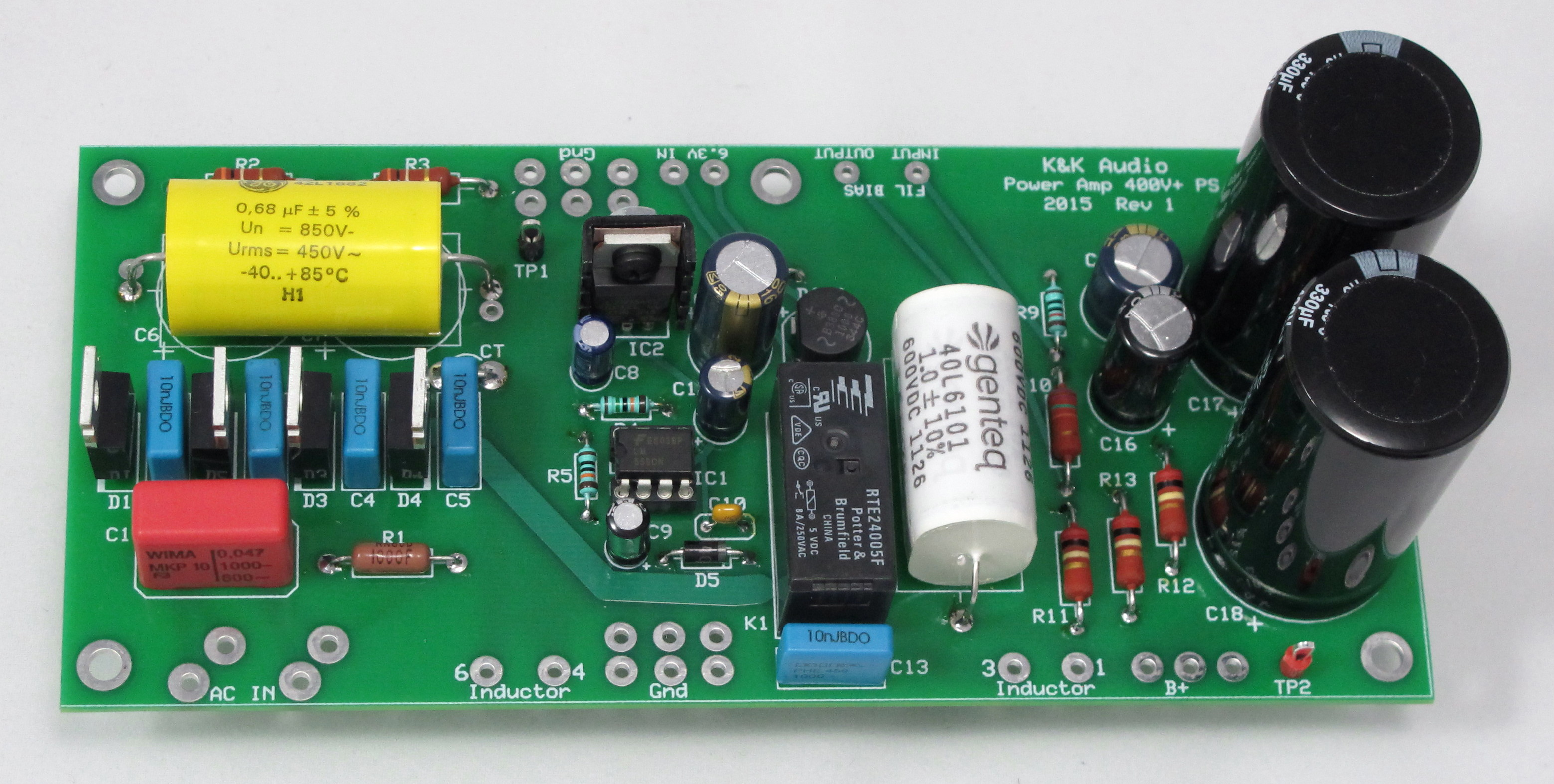 Kk Audio Power Amplifier Most High Voltage Supplies Use A Circuit Called Previousnext