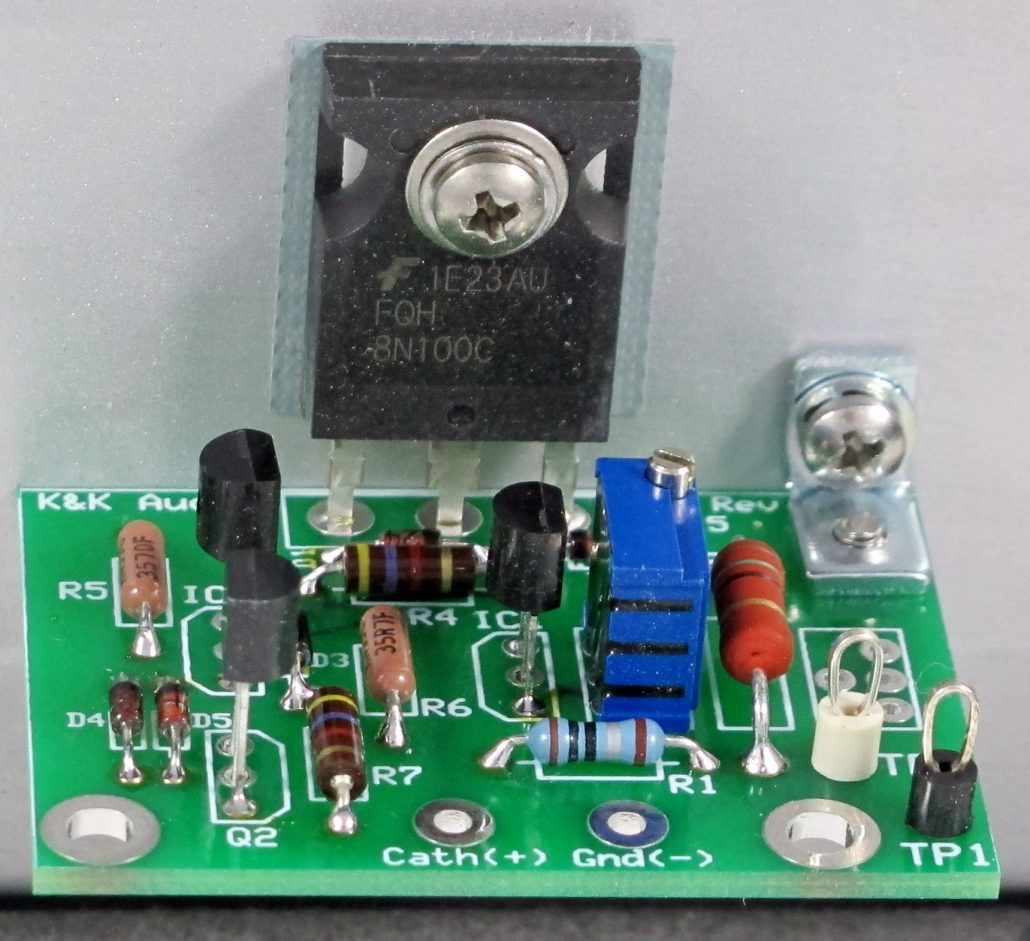 Kk Audio Other Kits Once The Bias Is Set This Circuit Will Supply A Constant Current To Cathode Sink