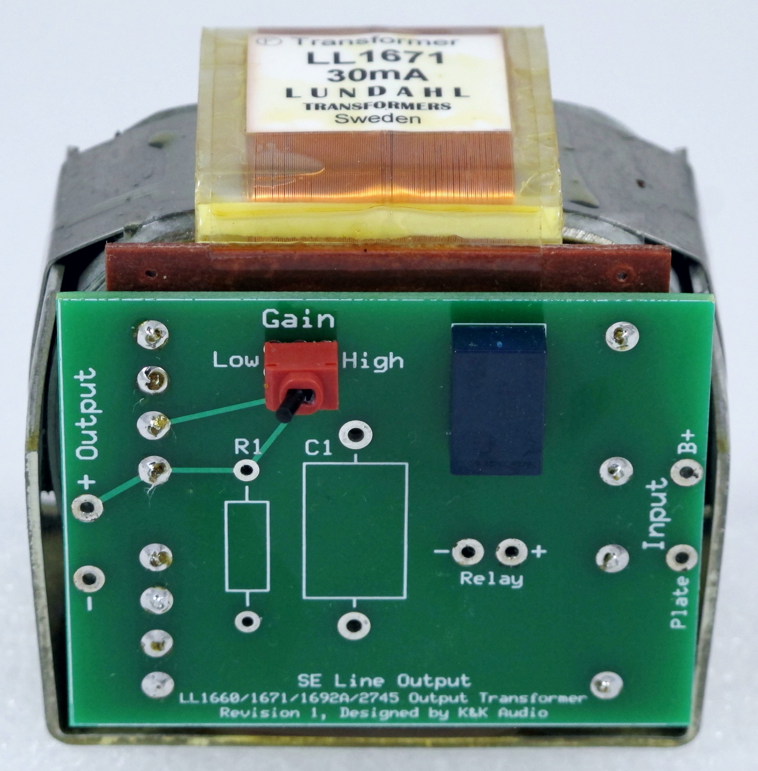 Single Ended Line Stage Preamps K Audio Preamplifiers Projects And Circuit 7 Output Transformer Pc Board
