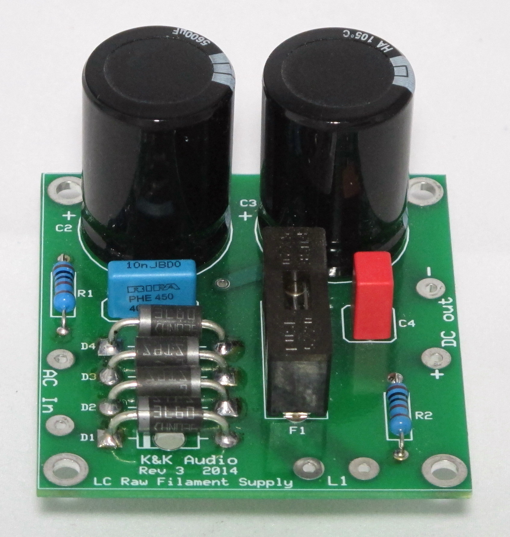 Single Ended Line Stage Preamps K Audio Regulated Power Supply Circuit Diagram Raw Filament Ps Kit