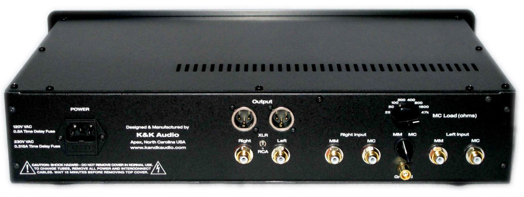 Maxxed Out Phono Stage – K & K Audio